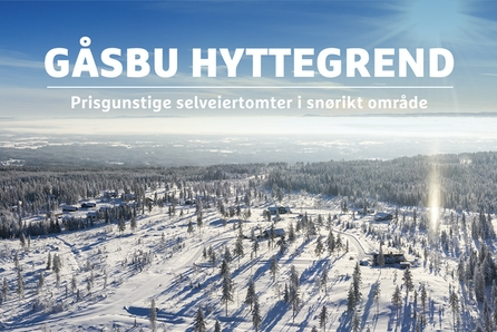 Gåsbu Hyttegrend - unike hyttemuligheter på Hedmarksvidda