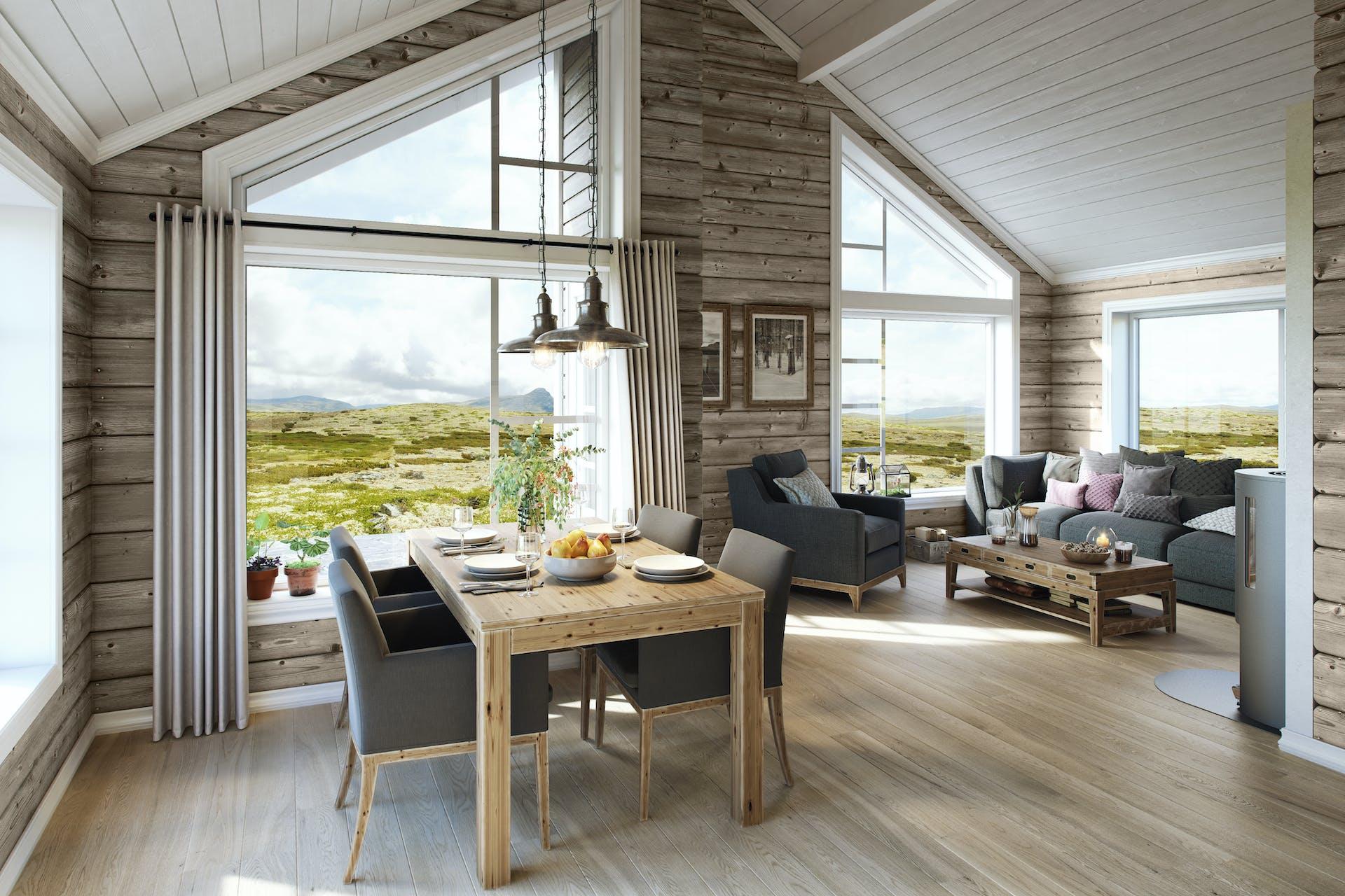 Utmerket Hytten Gråhø i Karakter-serien har seks sengeplasser | BoligPartner QK-73